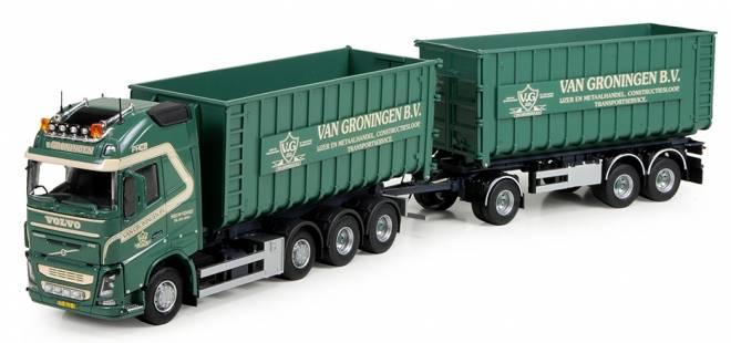 FH4 Globetrotter XL Motorwagen mit Hakenarm Container