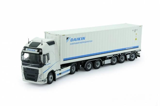 FH04 Globetrotter XL mit 5achs  container chassis mit  Daikin