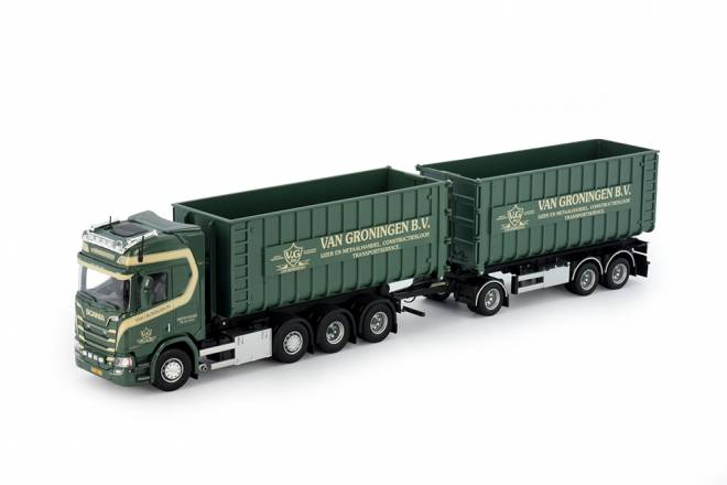 NGS R-serie Highline mit Containeranhänger