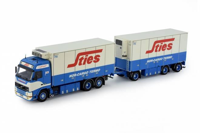 FH01 Globetrotter Koffer LKW mit 3achs Anhänger