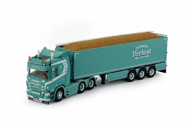 Next Gen R650 Highline mit Kartoffeln-Auflieger mit ladegut
