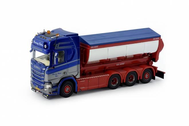 Next Gen R-serie Highline Motorwagen mit Hakenarm Container