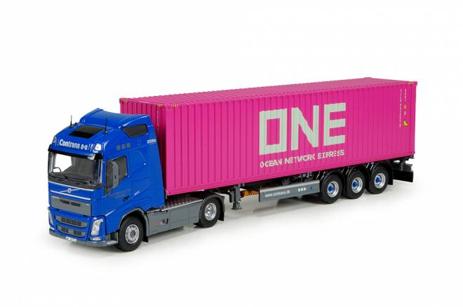 FH04 Globetrotter mit 40ft. container