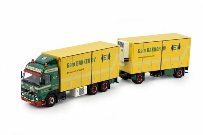 FH12 motorwagen mit 2achs  Anhanger