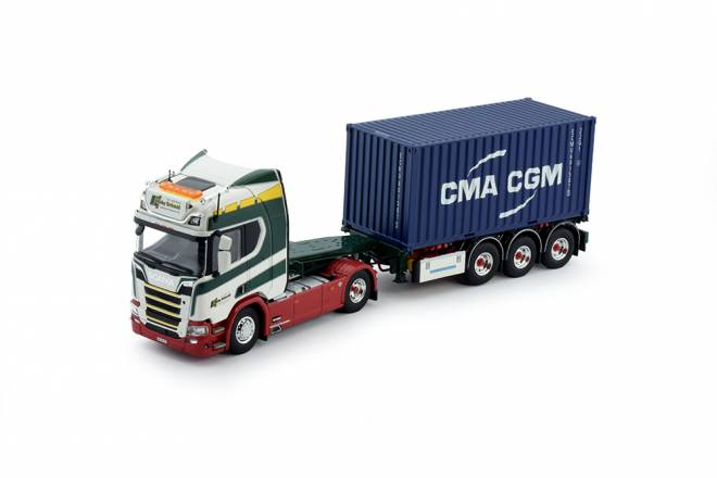 Next Gen R-serie Highline met 20ft. container