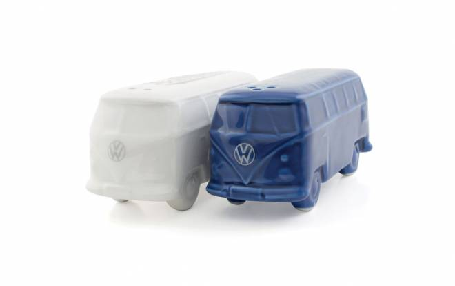 VW T1 BUS 3D SALZ & PFEFFERSTREUER IN GESCHENKBOX