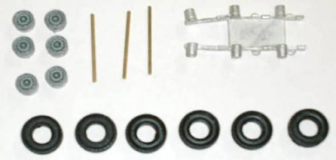 Umbausatz 3achs Modul (für Conrad Sattelauflieger Meillermulde Modelle)