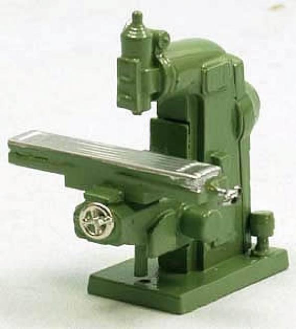 Oberfräse - Milling Maschine Fertigmodell/ready made grün/green