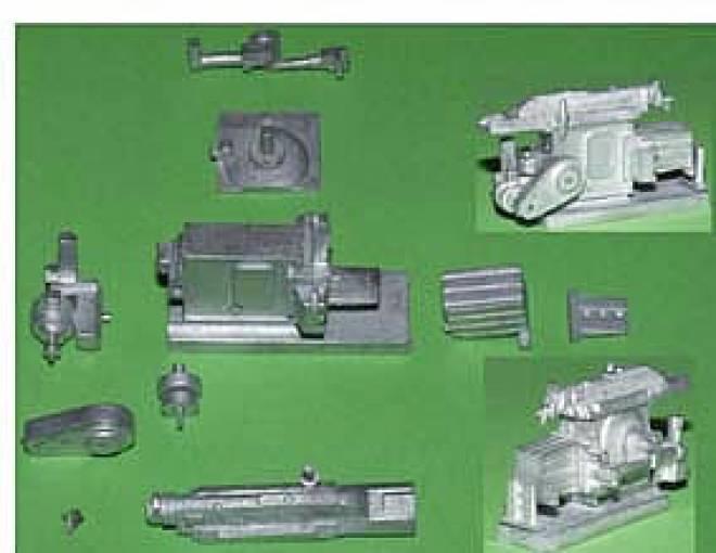 Stoßmaschine - Shaper Bausatz/kit unlackiert/not painted