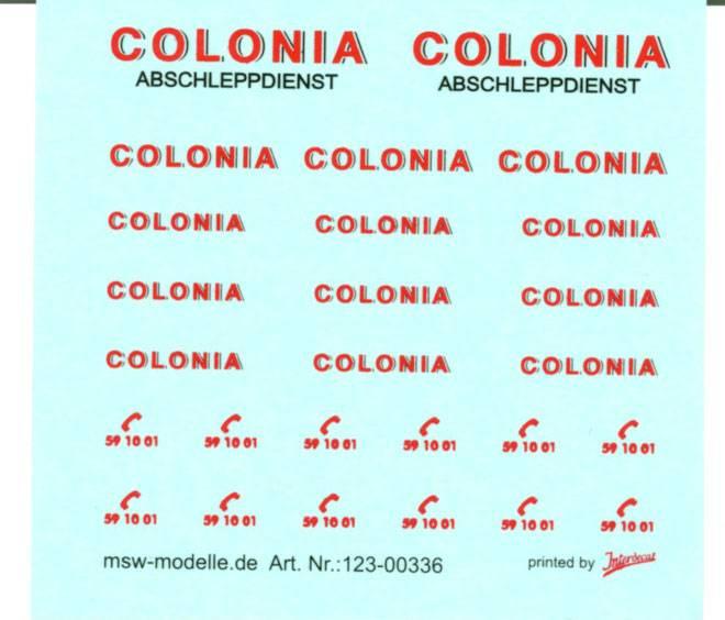 Abschleppdienst Colonia