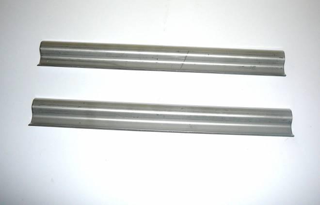 2 Stück 25 cm x 3 cm aus Metall