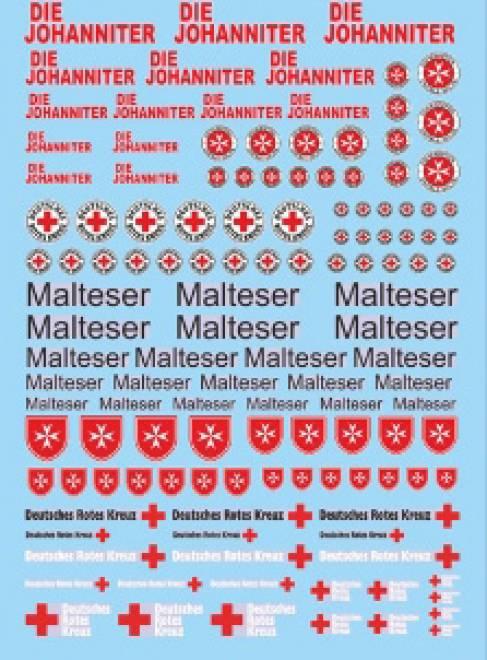 DIE Malteser Rettungs Dienste 3 (90x140 mm)