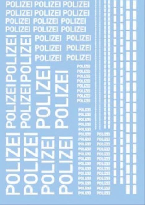 Polizei (140x90 mm)