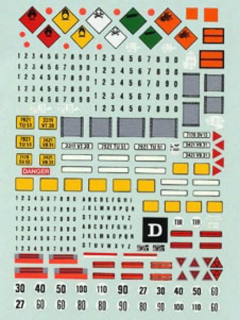 LKW Kennzeichen 1 (140x90 mm)