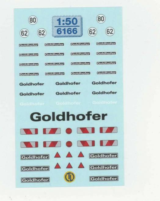 Goldhofer   Beschriftung