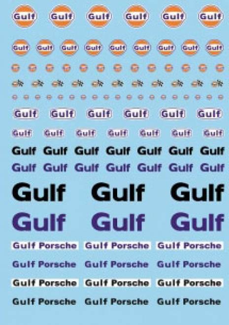 Öl Produkte 3 Gulf Sponsoren Decal (140x90 mm)