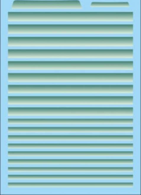 Grünkeil-Blendstreifen Decal (140x90 mm)