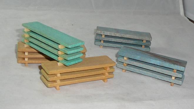 Ladung - 5x Holzstapel