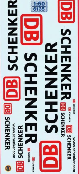 DB Schenker Beschriftungen