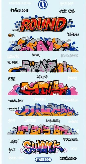 Graffiti Bogen