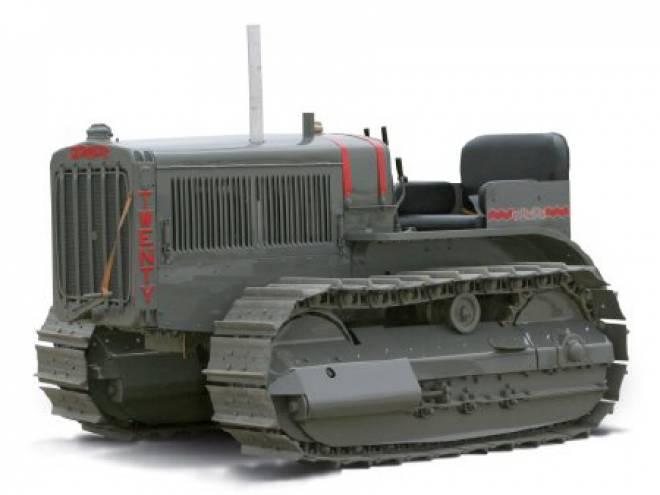Twenty track Type Tractor