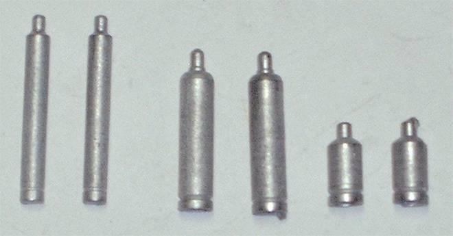 Gasflaschen Set (6 Stück)