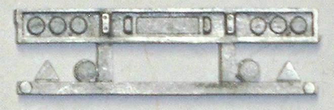 Rücklichtbalken 50x14 mm