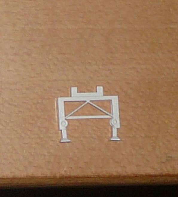 trailer landing legs, for chassis bulk trailer 2 pairs needed
