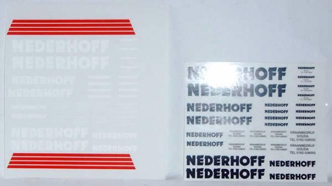Bogen Nederhoff (60 Stück in verschiedene größen)