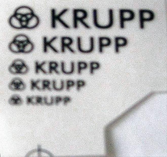 bogen -KRUPP- (5 Stück)