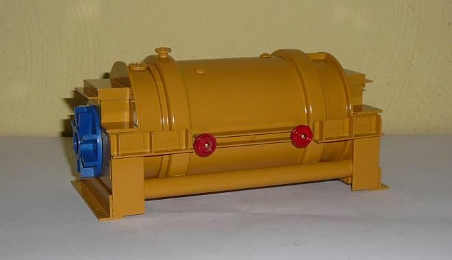Turbine als Ladung 20cm x 9,5 cm x 9,5 cm   (Eigenbau/Self-'s building) Einzelstück