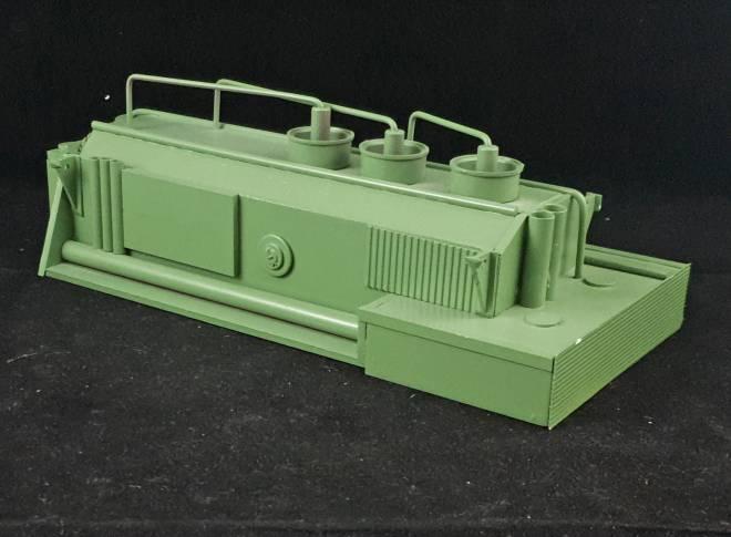 für Schwerlastzugmaschinen oder Gittermastkräne ca. 23cm lang