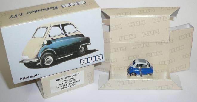 Isetta Export farbe blau-grau (limitierte Auflage 1000 stück)