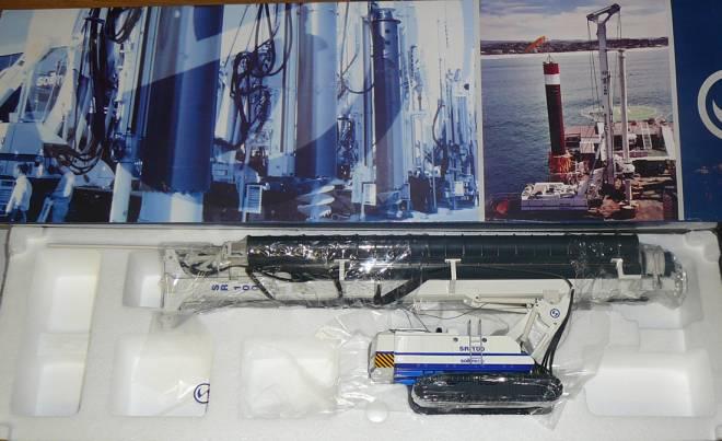 Bohgerät SR-100 mit Doppelkopfausrüstung