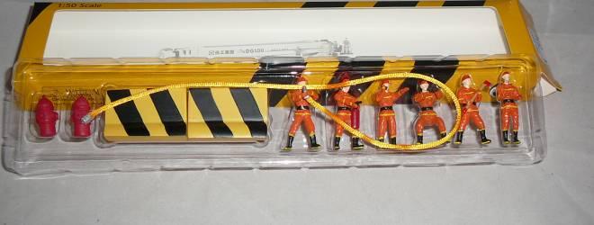 6 Feuerwehrmänner