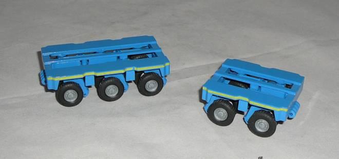 THP/ET 2 und THP/ET 3 Anhänger & Parallelkombination
