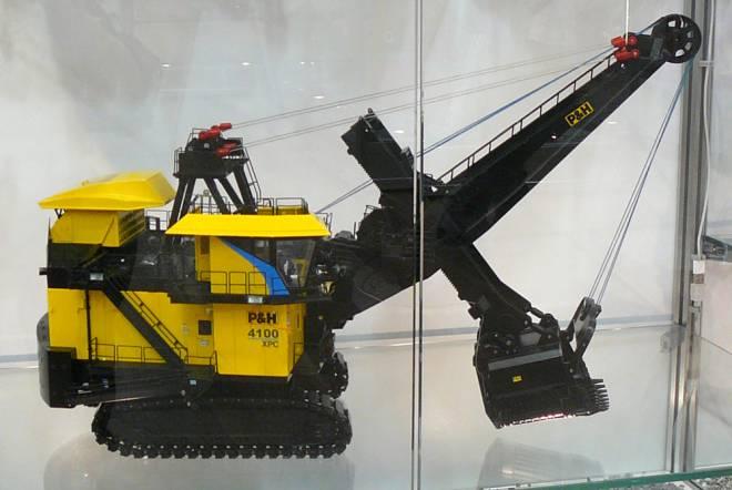 4100XPC electric Minenbagger
