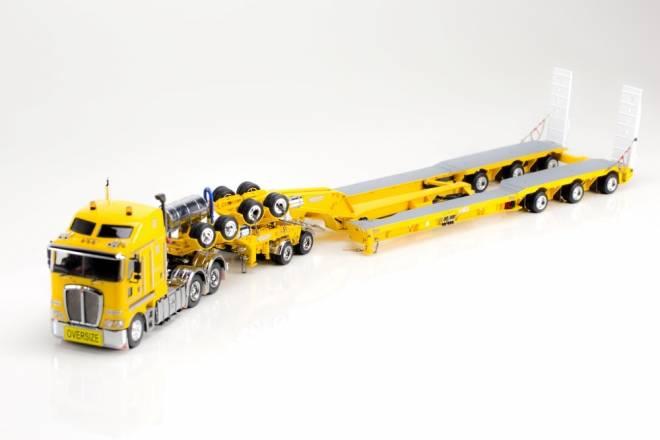 K200 tractor + Drake trailer