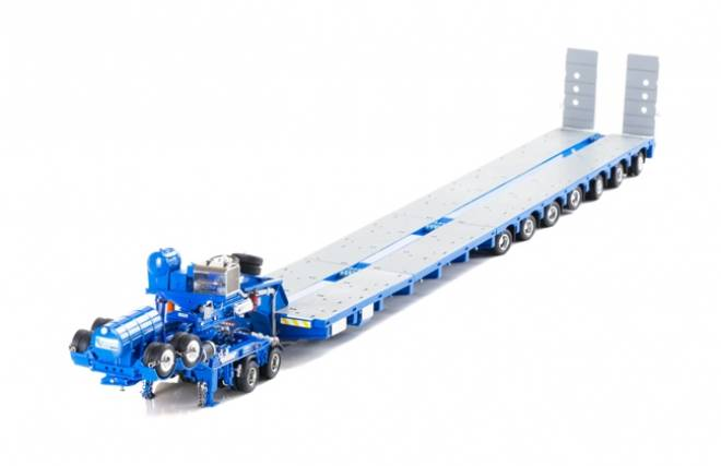 Tieflader 2x8 Dolly + 7x8 Steerable Lowloader