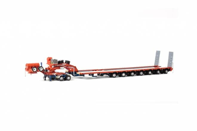 2x8 DOLLY + 7X8 STEERABLE LOWLOADER
