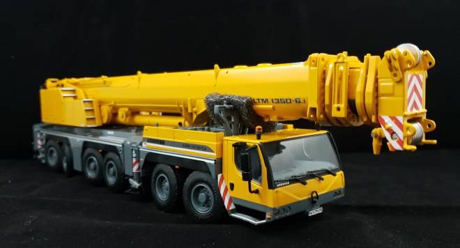 LTM 1350 mit Gittermastverlängerung