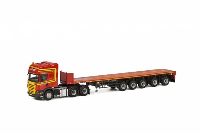 R6 6x4   mit 6-axle Goldhofer Ballasttrailer