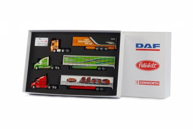 Peterbilt + Kenworth Paccar Brand Box