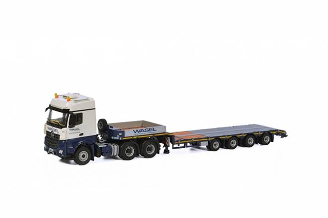 Benz Arocs MP4 Big Space SLT Semi Lowloader 4achs
