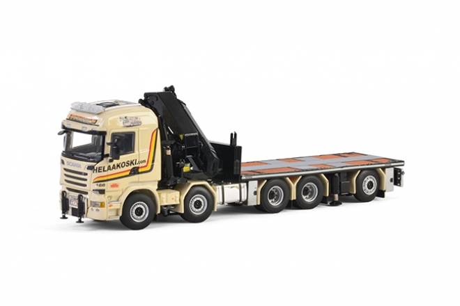 R Streamline Highline Rigid with truck mounted crane and Jib