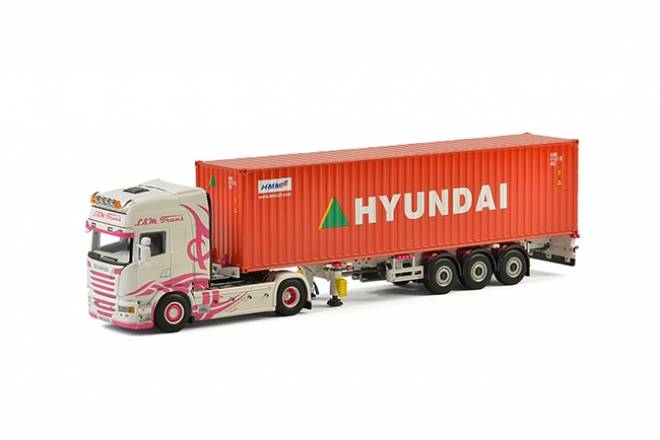 R Streamline Topline Containerauflieger (3 Achs) & 40 Fuss Container