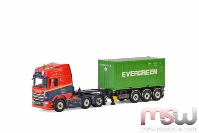 R Highline CR20H mit 1 x 20FT Container und 3achs