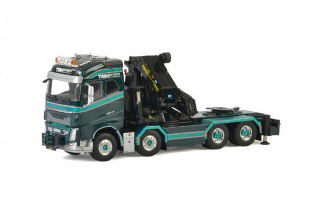 FH4 Globetrotter Riged Flatbed Truck + Palfinger 15000.2 + Jib
