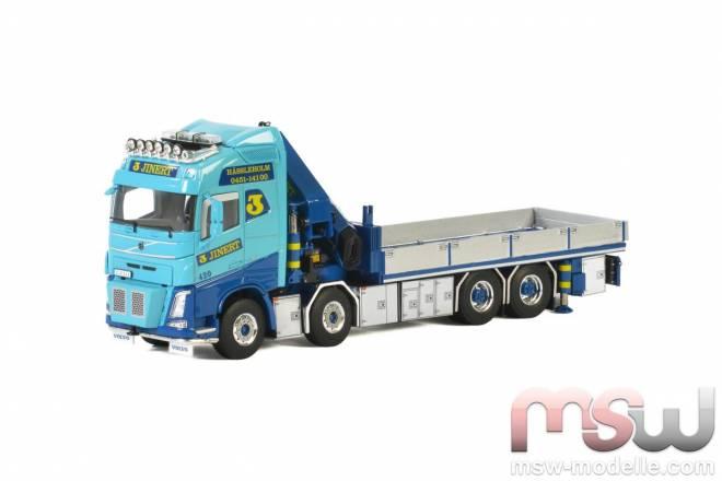 FH4 Globetrotter Riged Flatbed Truck mit Jib und Palfinger 9200.2