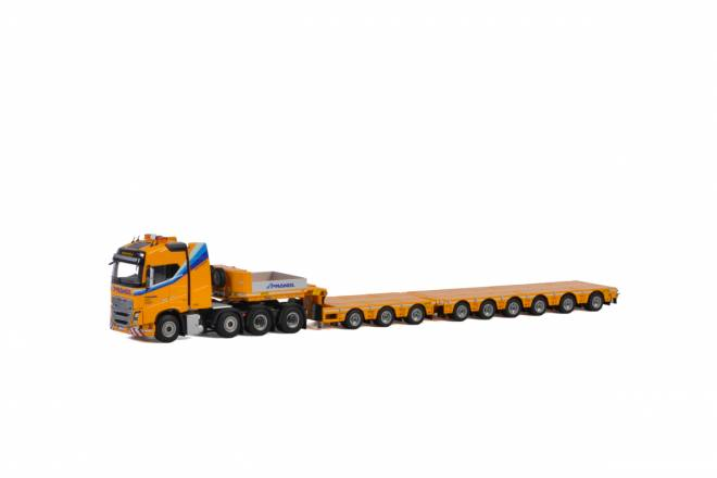 FH4 Globetrotter Broshuis 100 Tonner - 6 axle + Dolly - 3 axle (Without Load)